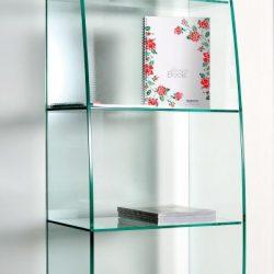 Libreria in vetro